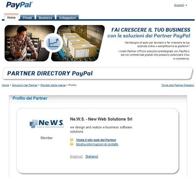news paypal per ecommerce