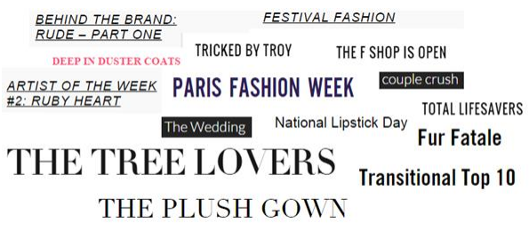 headlines ecommerce moda