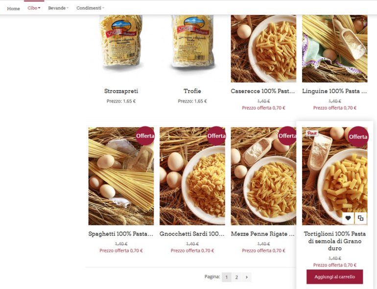 top Food Italy