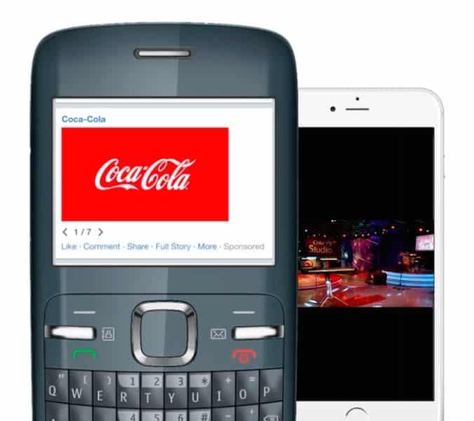il video Cocacola realizzato con Slideshow