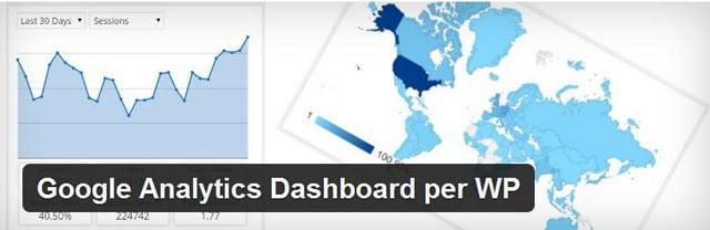 wordpress google analytic-dashboard