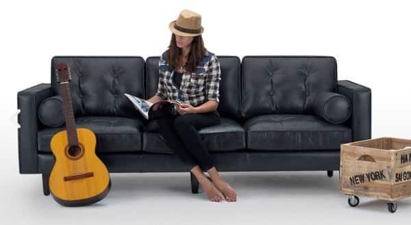 divano contestualizzato per catalogo ecommerce