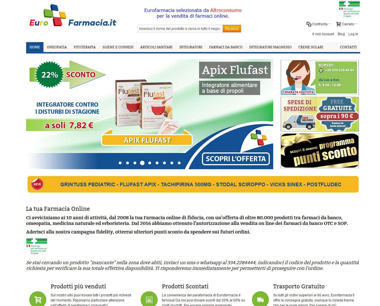 Eurofarmacia eCommerce